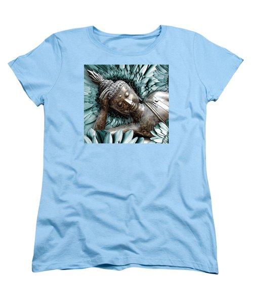 Mind Bloom Women's T-Shirt (Standard Cut) by Christopher Beikmann