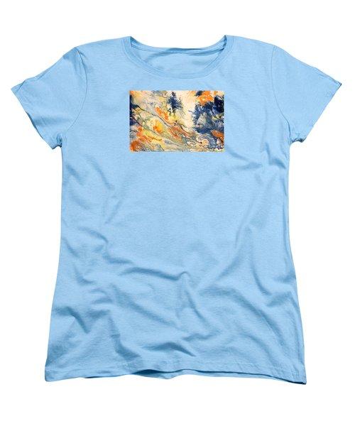 Mind Flow Women's T-Shirt (Standard Cut) by Gallery Messina