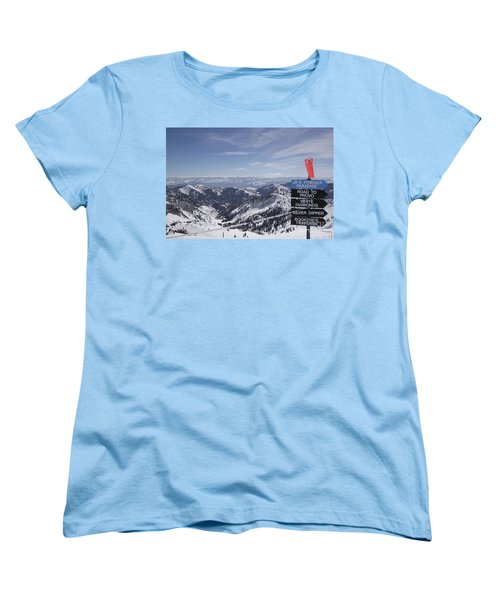 Mineral Basin Women's T-Shirt (Standard Cut) by Adam Jewell
