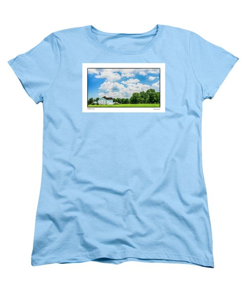 Women's T-Shirt (Standard Cut) featuring the photograph Mingoville Clouds by R Thomas Berner