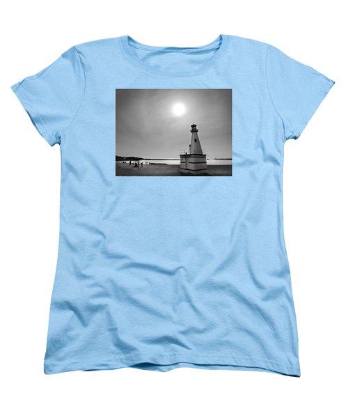 Miniature Lighthouse Women's T-Shirt (Standard Cut) by John Hansen