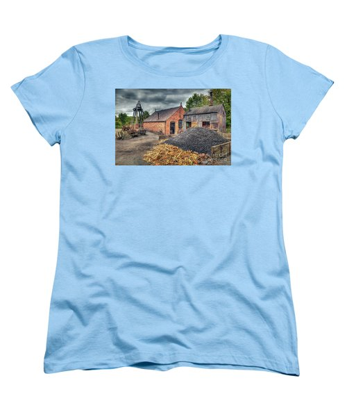Women's T-Shirt (Standard Cut) featuring the photograph Mining Village by Adrian Evans