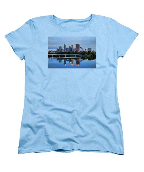 Minneapolis Reflections Women's T-Shirt (Standard Cut)