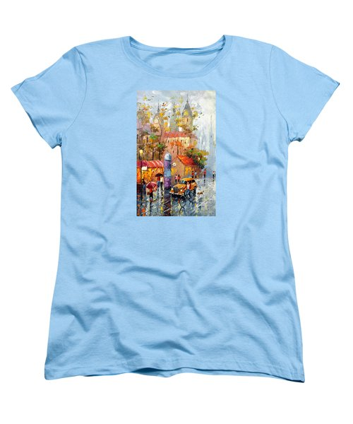 Women's T-Shirt (Standard Cut) featuring the photograph Minutes Of Waiting 2  by Dmitry Spiros