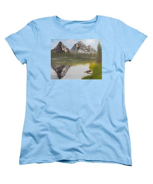 Mirror Mountain Women's T-Shirt (Standard Cut)
