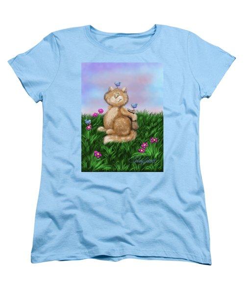 Mischief Women's T-Shirt (Standard Cut) by Dani Abbott