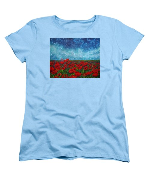 Women's T-Shirt (Standard Cut) featuring the painting Mischling by Matt Konar