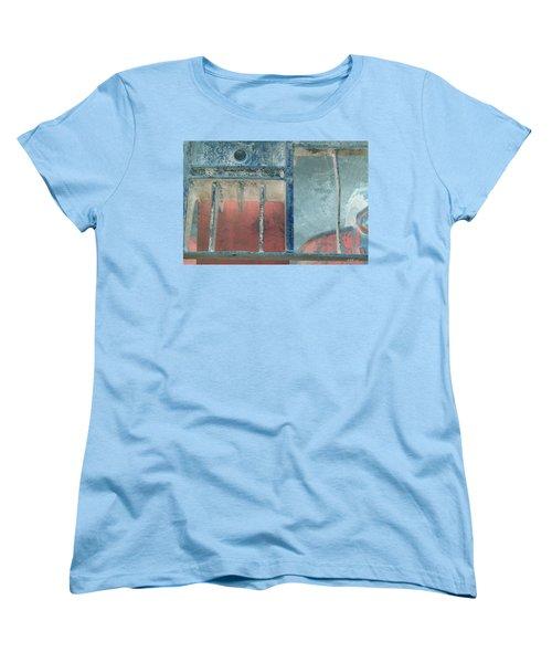 Missing Middle Bar Left Flipped Horizontal Women's T-Shirt (Standard Cut) by Heather Kirk
