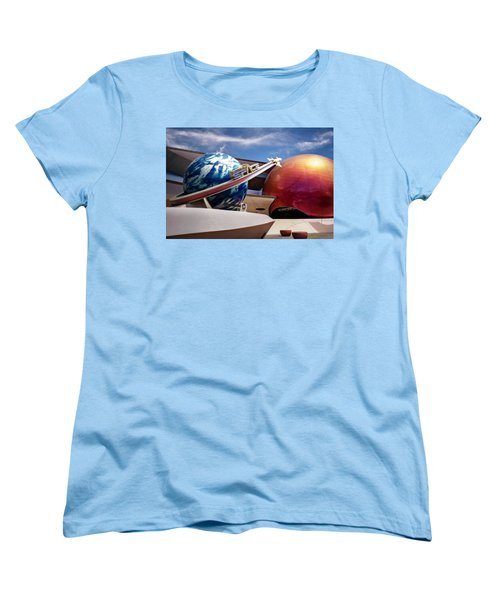 Women's T-Shirt (Standard Cut) featuring the photograph Mission Space by Eduard Moldoveanu