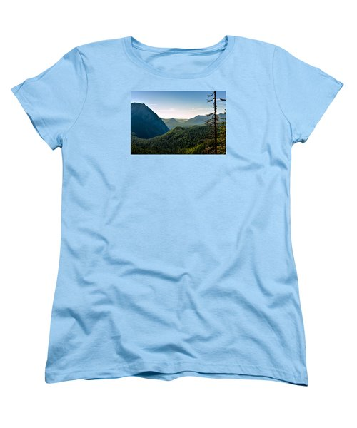 Misty Mountains Women's T-Shirt (Standard Cut)