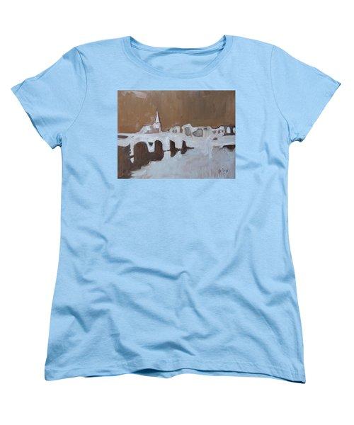 Moasbrogk In Brown Tints Women's T-Shirt (Standard Cut) by Nop Briex