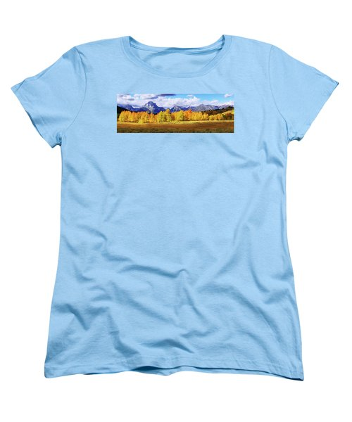Women's T-Shirt (Standard Cut) featuring the photograph Moment by Chad Dutson