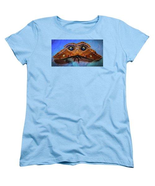 Women's T-Shirt (Standard Cut) featuring the photograph Moments We Cherish by Karen Wiles