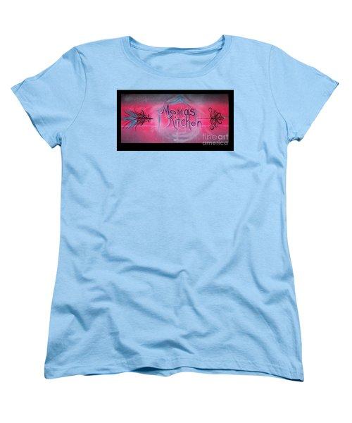 Momma's Kitchen  Women's T-Shirt (Standard Cut) by Talisa Hartley