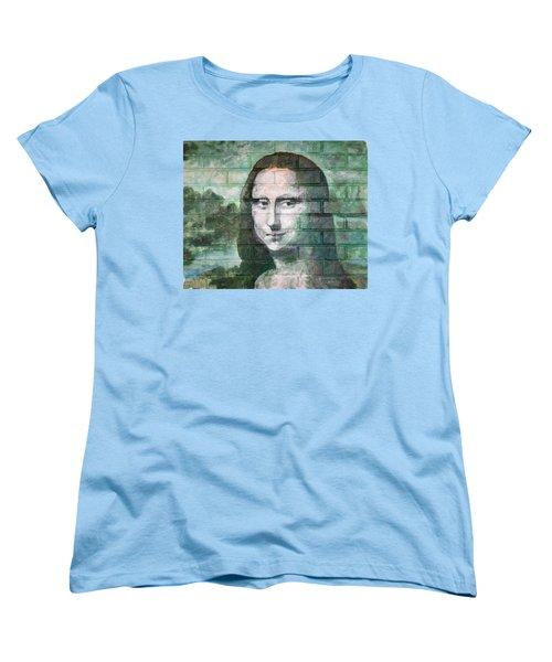Mona Lisa  Women's T-Shirt (Standard Cut) by Stan Tenney