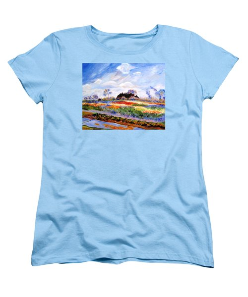 Monet's Tulips Women's T-Shirt (Standard Cut) by Jamie Frier