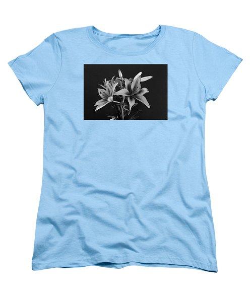 Women's T-Shirt (Standard Cut) featuring the photograph Monochrome Grace by Dorin Adrian Berbier