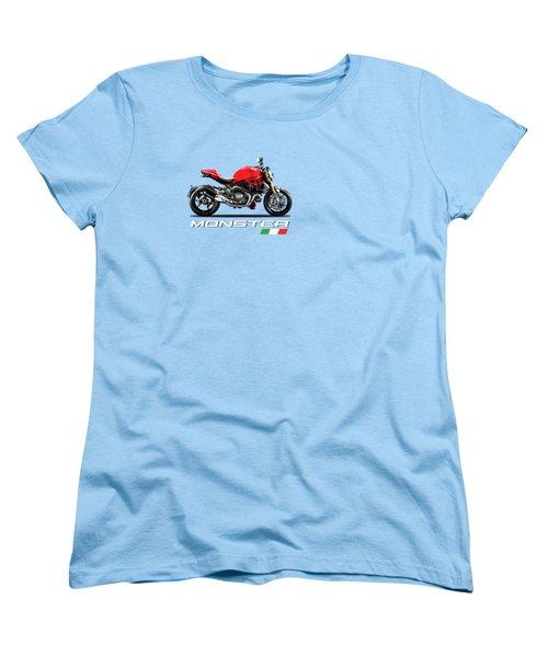 Monster 1200 Women's T-Shirt (Standard Cut) by Mark Rogan