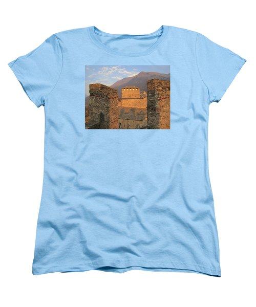 Montebello - Bellinzona, Switzerland Women's T-Shirt (Standard Cut) by Travel Pics