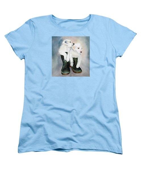Monti And Gemma Women's T-Shirt (Standard Cut)
