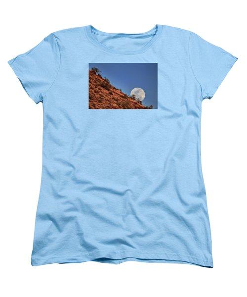Moonrise Women's T-Shirt (Standard Cut) by Rick Furmanek