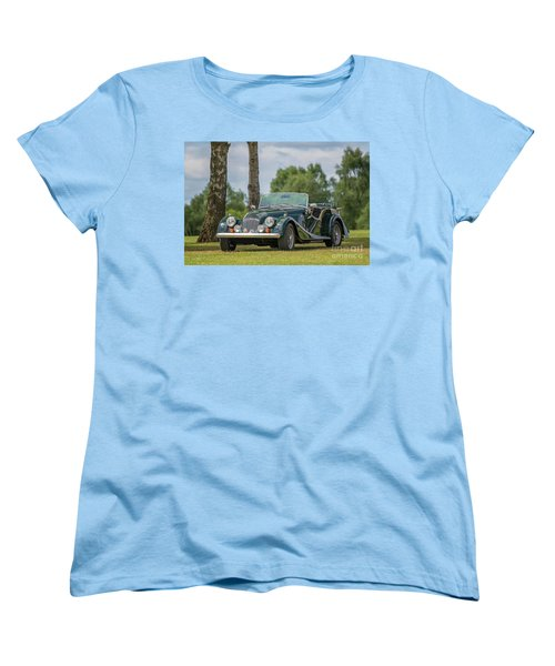 Women's T-Shirt (Standard Cut) featuring the photograph Morgan Sports Car by Adrian Evans