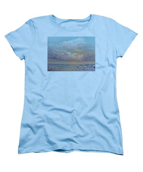Morning At The Ocean Women's T-Shirt (Standard Cut) by Luczay