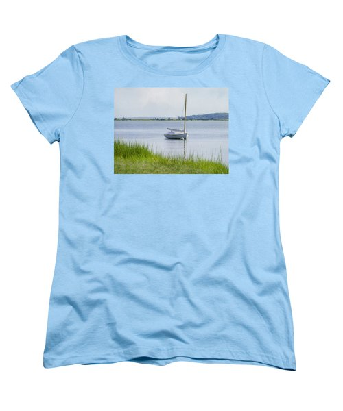 Morning Calm Women's T-Shirt (Standard Cut) by Keith Armstrong