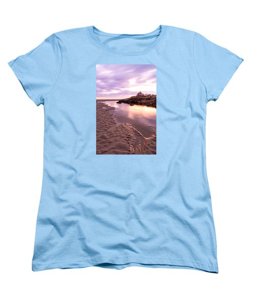 Morning Glow Good Harbor Women's T-Shirt (Standard Cut) by Michael Hubley