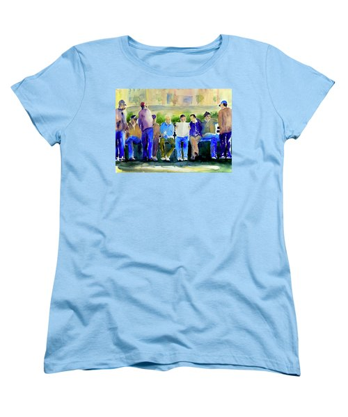 Morning Meeting In Portsmouth Square Women's T-Shirt (Standard Cut) by Tom Simmons