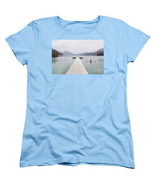 Morning Patrol Women's T-Shirt (Standard Cut) by JR Photography