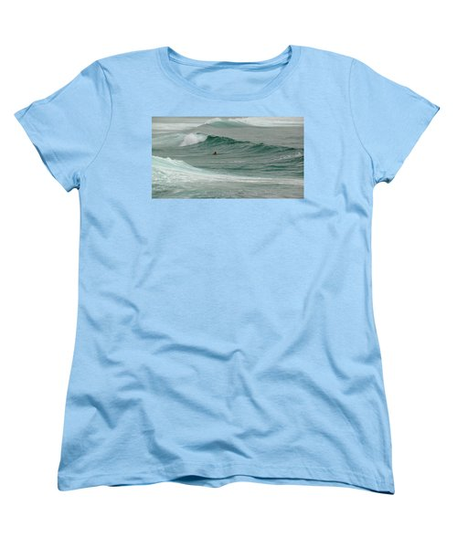 Morning Ride Women's T-Shirt (Standard Cut) by Evelyn Tambour
