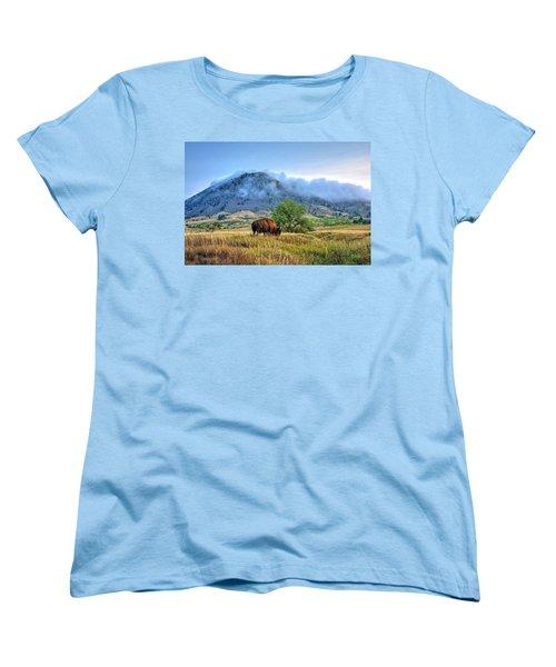 Morning Shift Women's T-Shirt (Standard Cut) by Fiskr Larsen