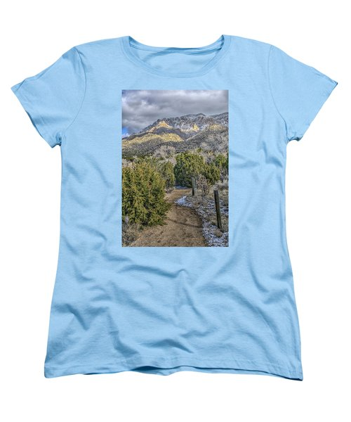 Morning Walk Women's T-Shirt (Standard Cut) by Alan Toepfer
