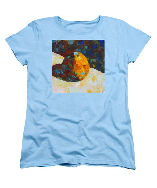 Mosaic Citrus Women's T-Shirt (Standard Cut) by Susan Woodward