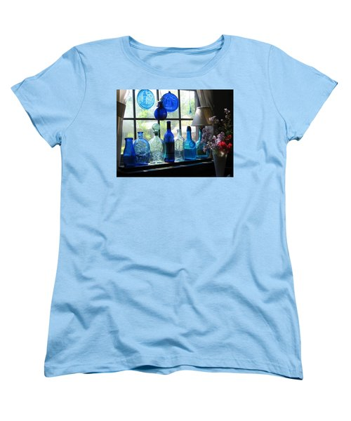 Mother's Day Window Women's T-Shirt (Standard Cut) by John Scates