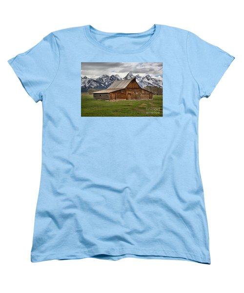 Moulton Barn Spring Storms Women's T-Shirt (Standard Cut) by Adam Jewell
