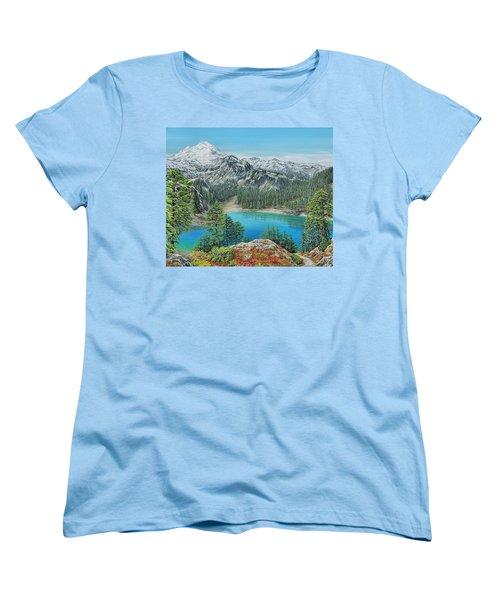 Mount Baker Wilderness Women's T-Shirt (Standard Cut)