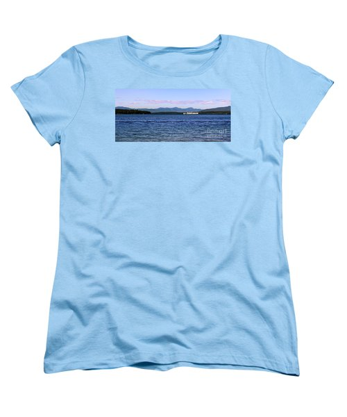 Mount Washington Women's T-Shirt (Standard Cut) by Mim White