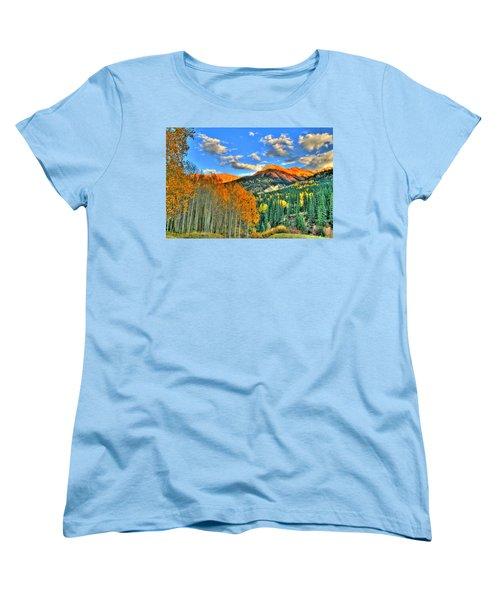 Mountain Beauty Of Fall Women's T-Shirt (Standard Cut) by Scott Mahon