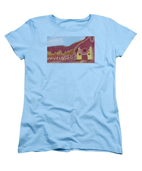 Mountain Mission Women's T-Shirt (Standard Cut) by Don Koester