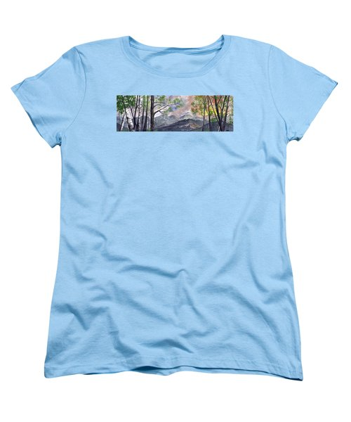 Mountain Morning Women's T-Shirt (Standard Cut) by Terry Cork