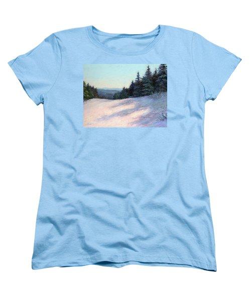 Mountain Stillness Women's T-Shirt (Standard Cut) by Vikki Bouffard