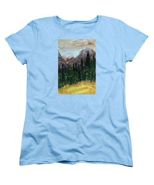 Mountain Vista Women's T-Shirt (Standard Cut) by R Kyllo