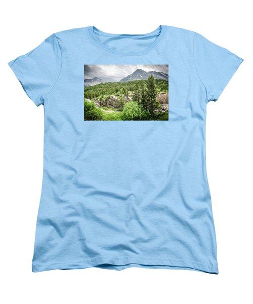 Mountain Vistas Women's T-Shirt (Standard Cut)
