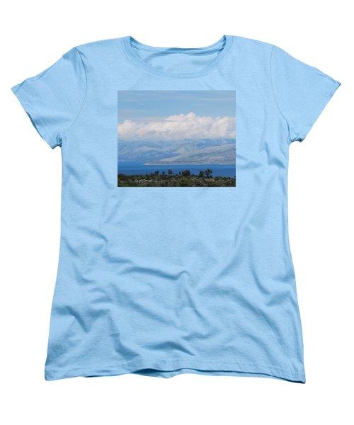 Mountains Far Away  3 Women's T-Shirt (Standard Cut) by George Katechis