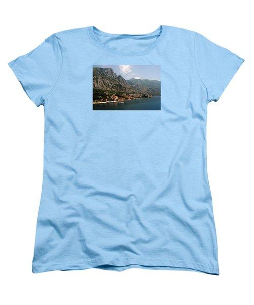 Mountains Of Montenegro Women's T-Shirt (Standard Cut) by Robert Moss