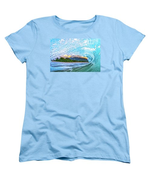 Mountains To The Sea Women's T-Shirt (Standard Cut)