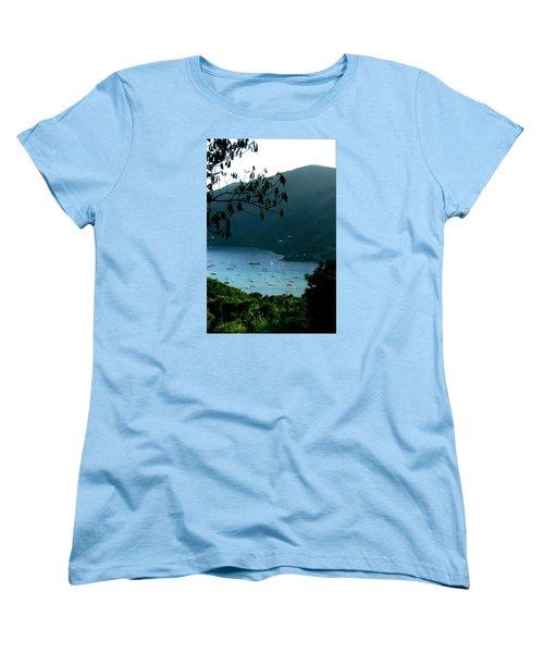 Mountainside Coral Bay Women's T-Shirt (Standard Cut) by Robert Nickologianis