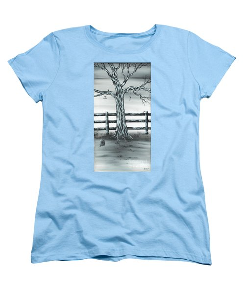 Mouse House Women's T-Shirt (Standard Cut) by Kenneth Clarke